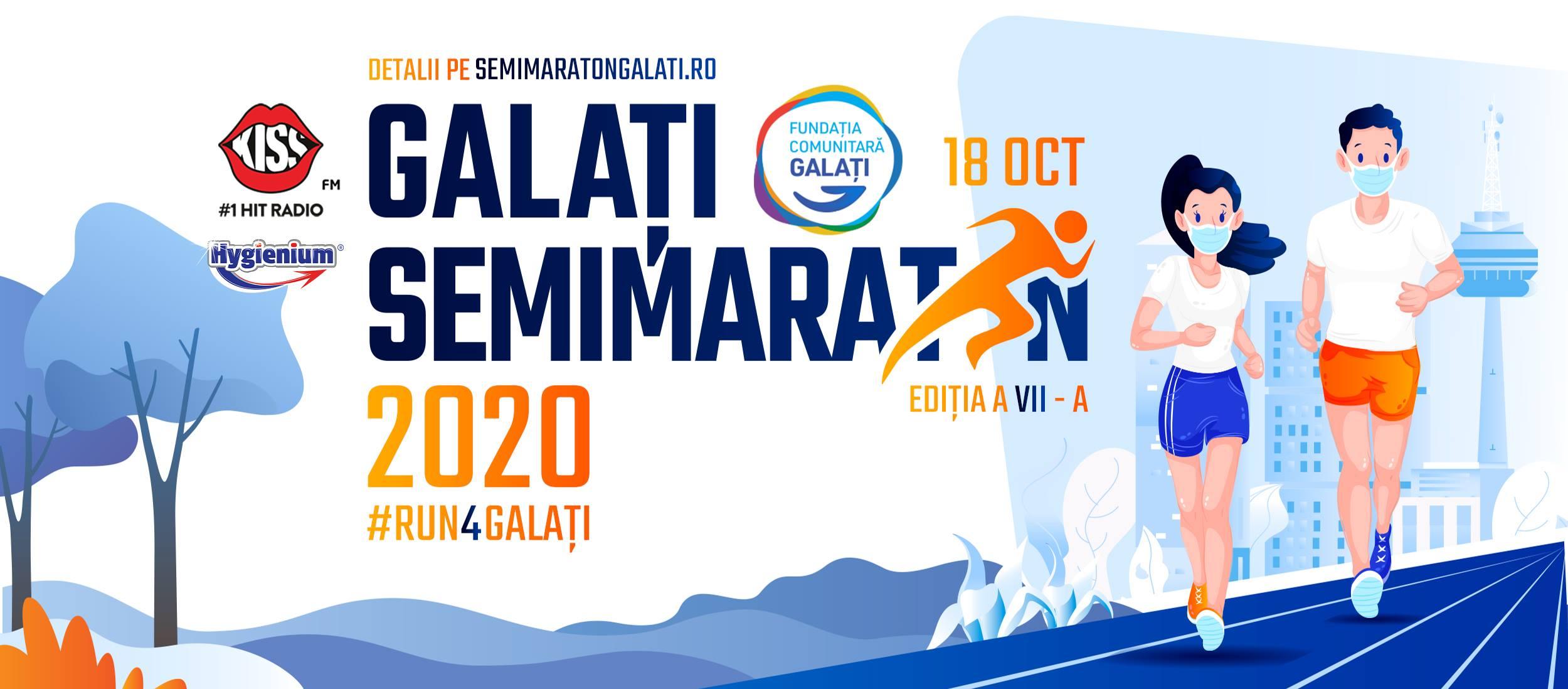 Alergăm pentru o cauză nobilă- Semimaraton Galați 2020