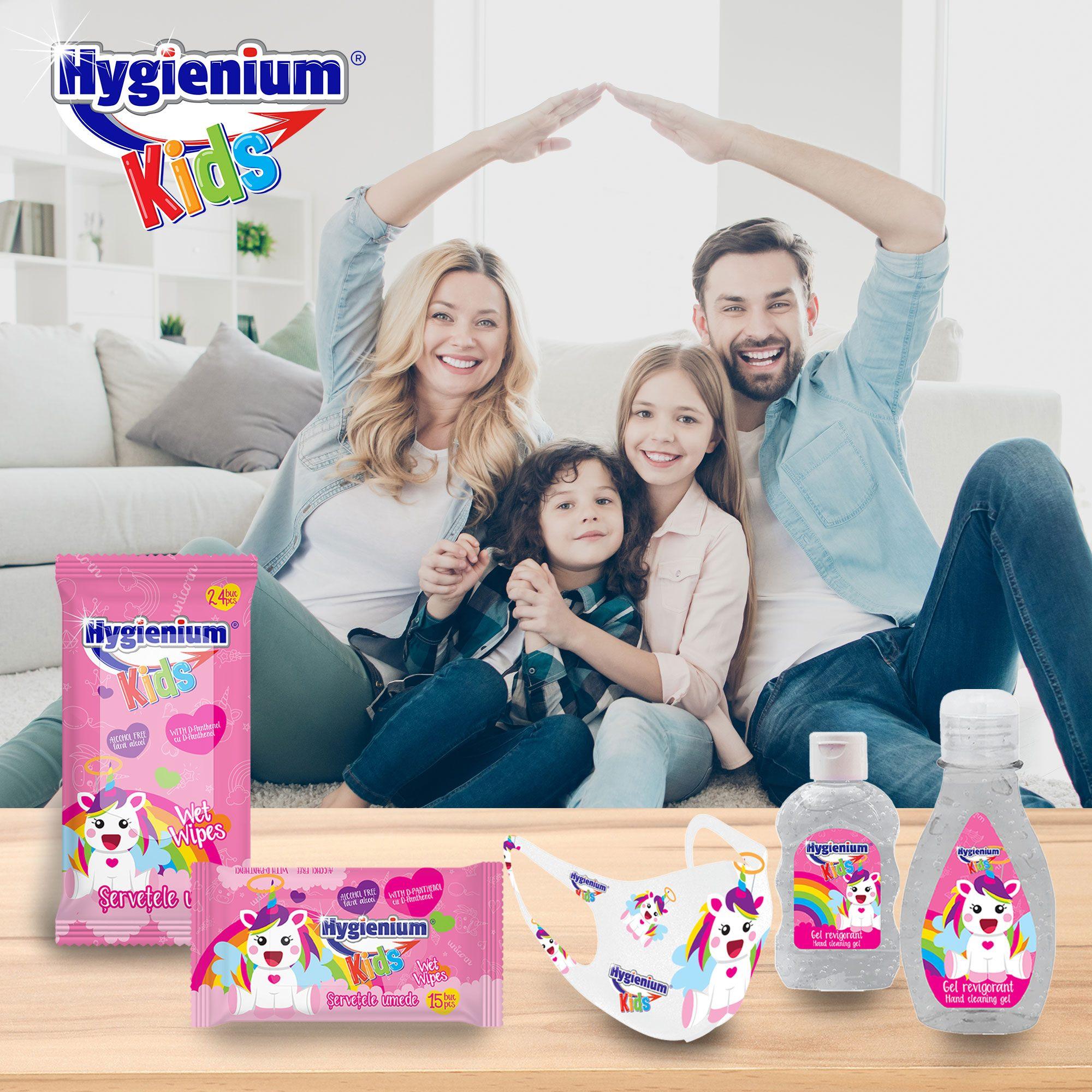 Pune pe primul loc igiena copilului tău cu Kit-ul Hygienium Kids