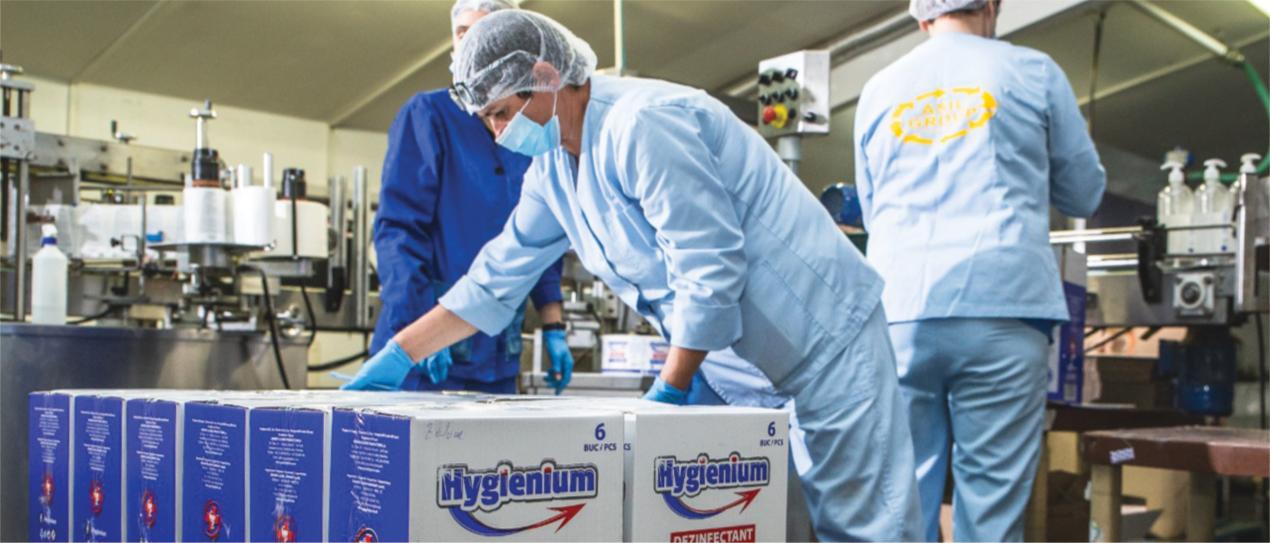 Hygienium, brand românesc de mai bine de 8 ani