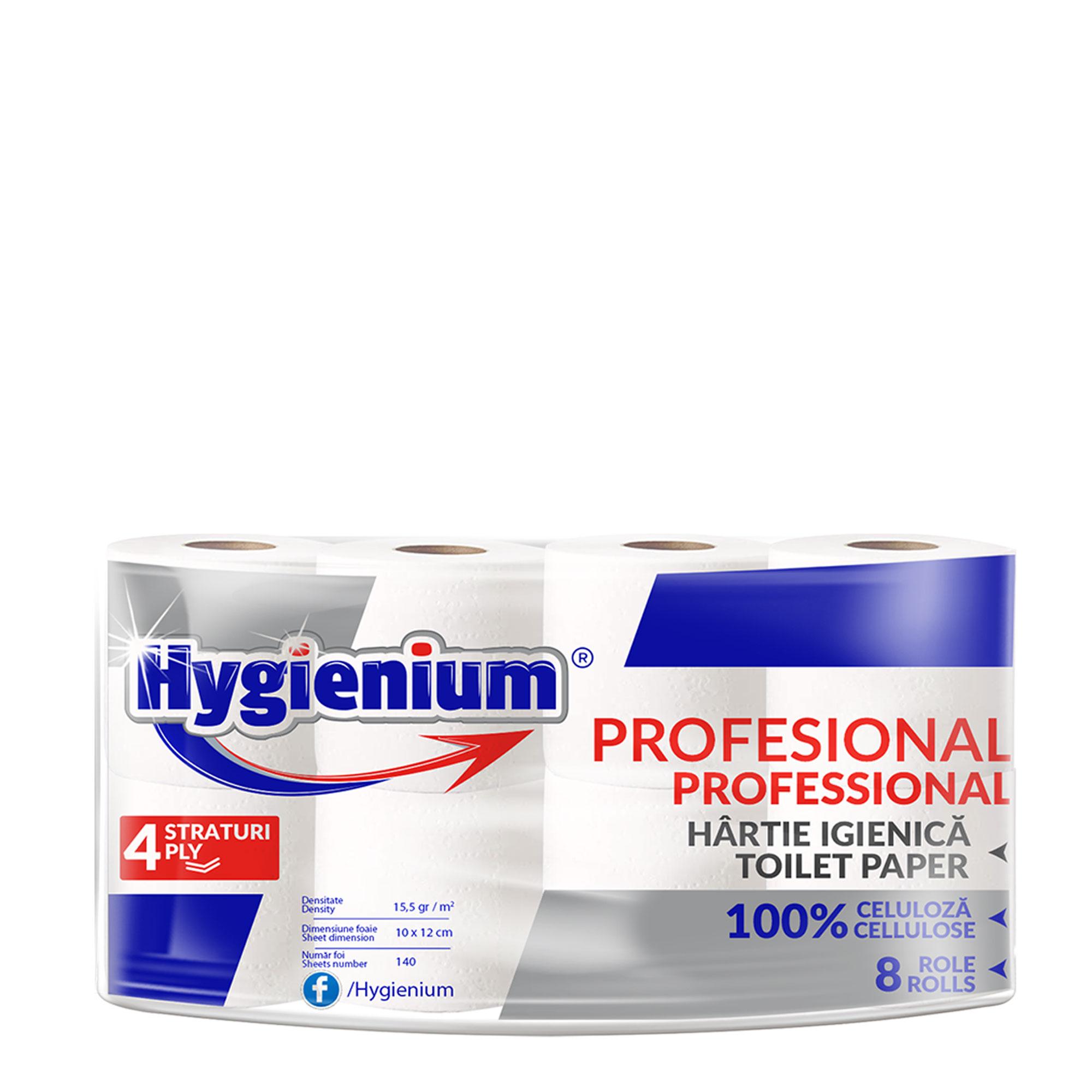 Hygienium Professional Hartie Igienica 8 rolls