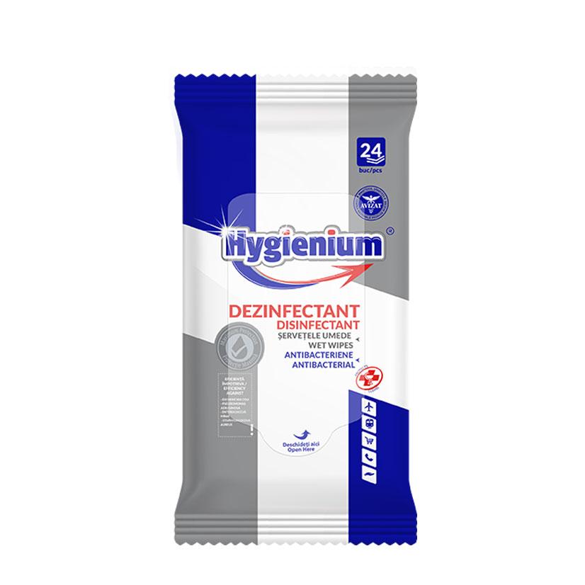 Hygienium Servetele Umede Antibacteriene 24 pcs